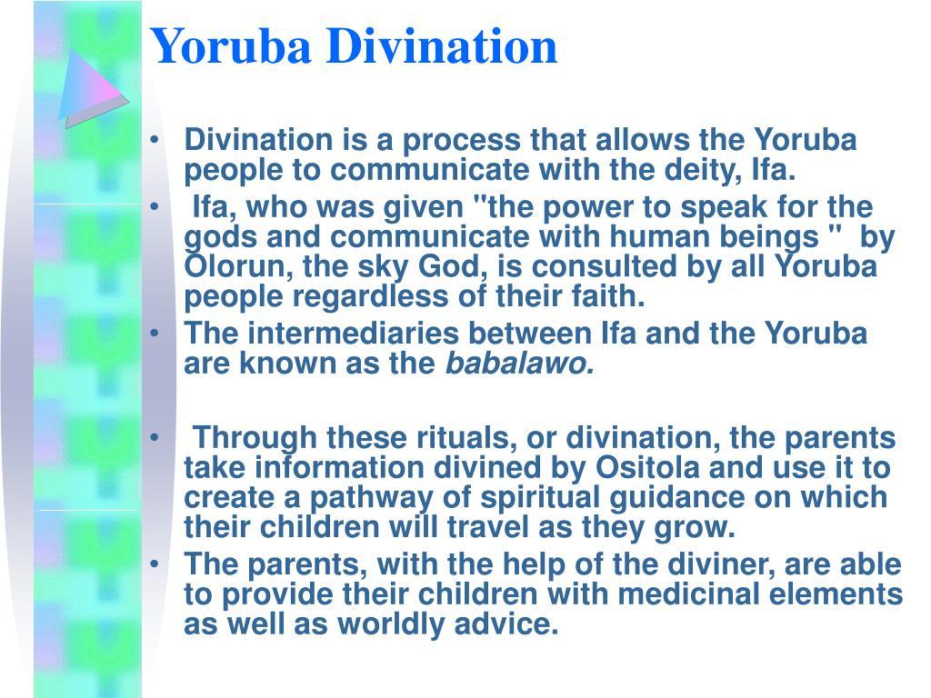 Yoruba Divination