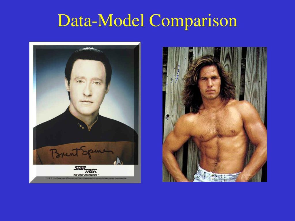 Data-Model Comparison