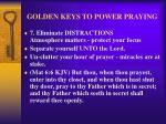 golden keys to power praying10