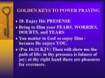 golden keys to power praying13