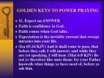 golden keys to power praying14