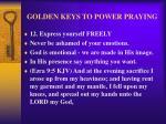 golden keys to power praying15