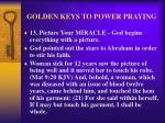 golden keys to power praying16