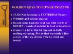 golden keys to power praying18