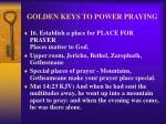 golden keys to power praying19