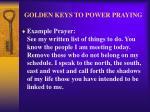 golden keys to power praying27