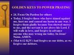 golden keys to power praying32