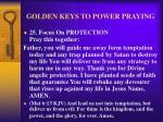 golden keys to power praying33