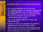 golden keys to power praying34