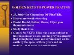golden keys to power praying35