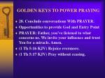 golden keys to power praying36