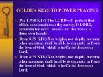 golden keys to power praying38