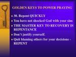 golden keys to power praying39