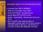 golden keys to power praying9