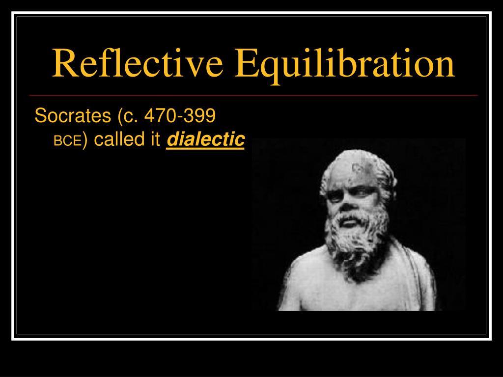 Reflective Equilibration
