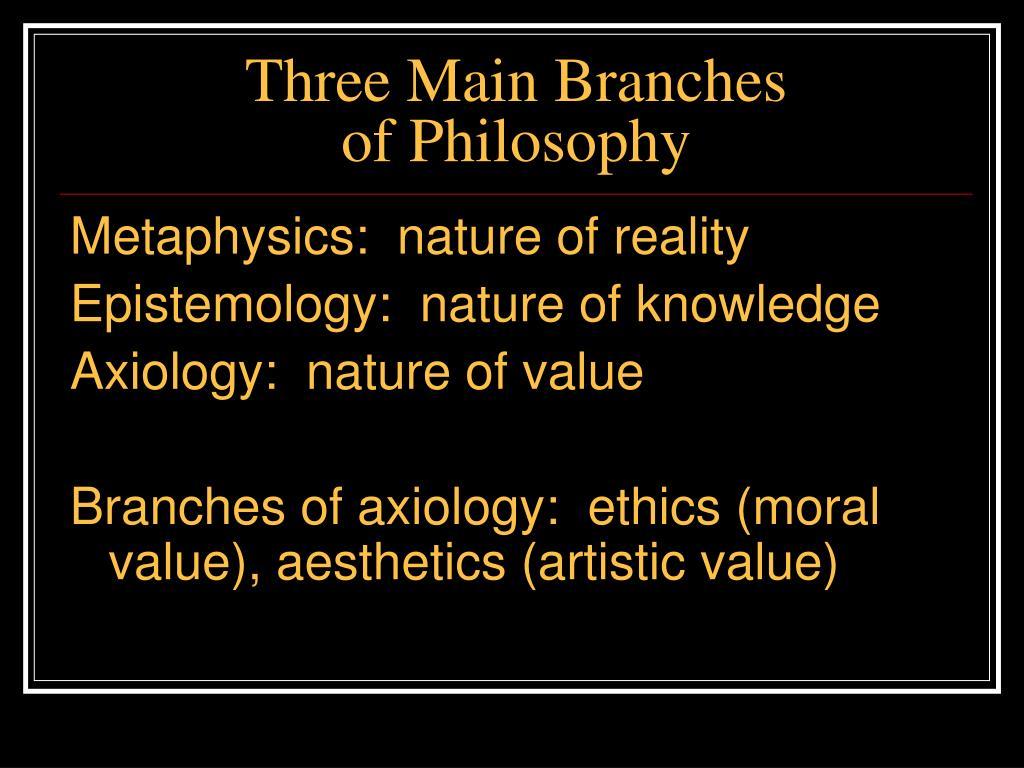 Three Main Branches