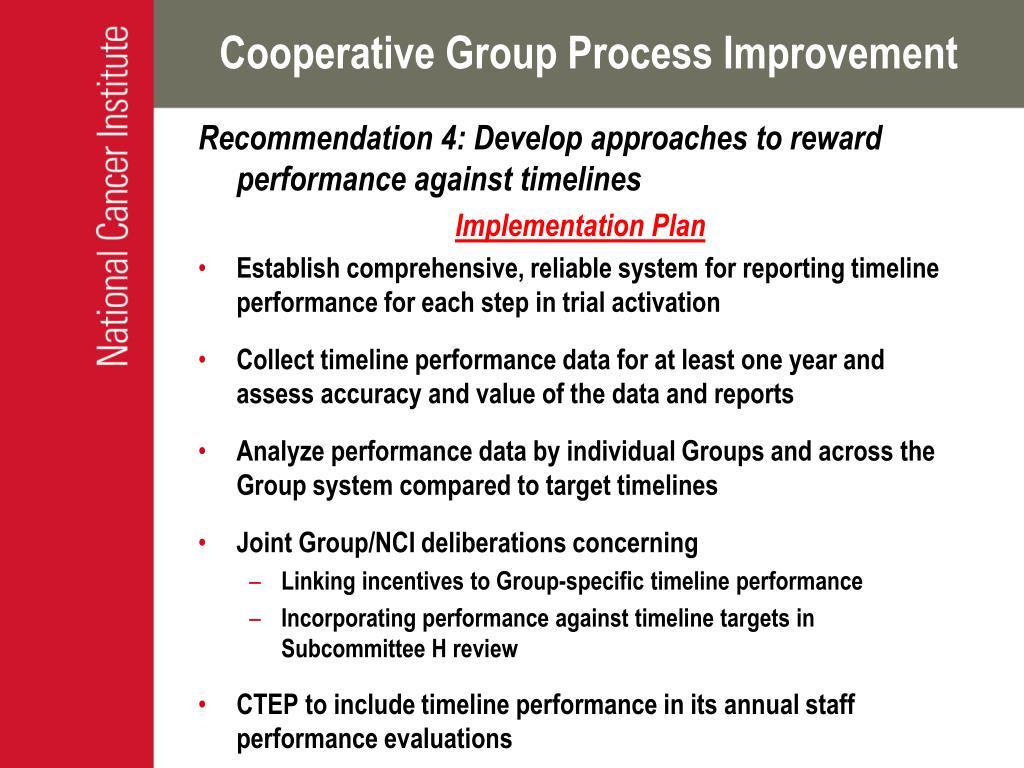 Cooperative Group Process Improvement