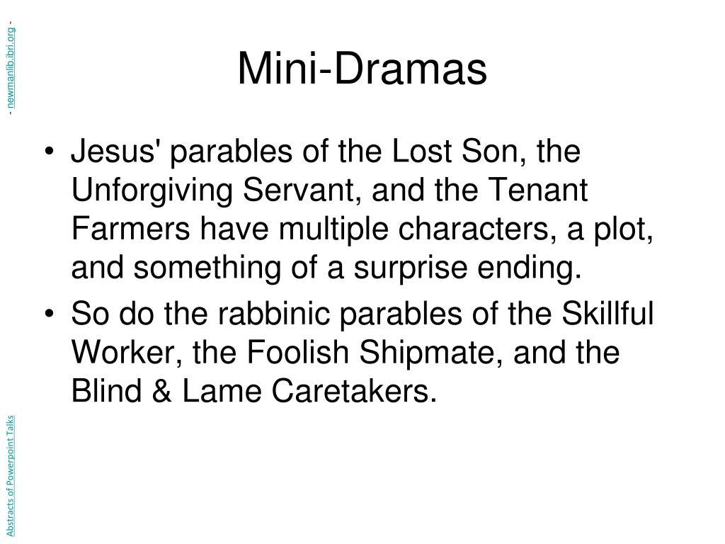 Mini-Dramas