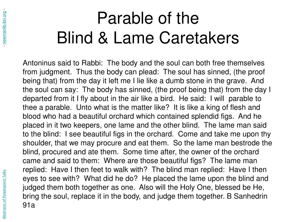 Parable of the