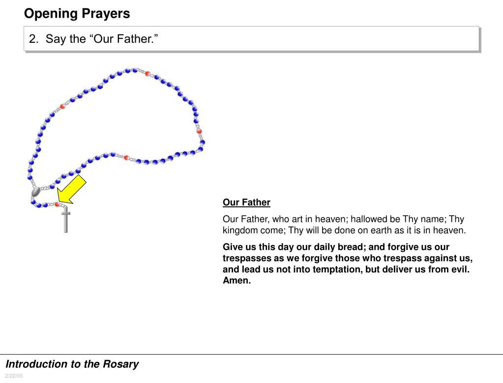 Opening Prayers