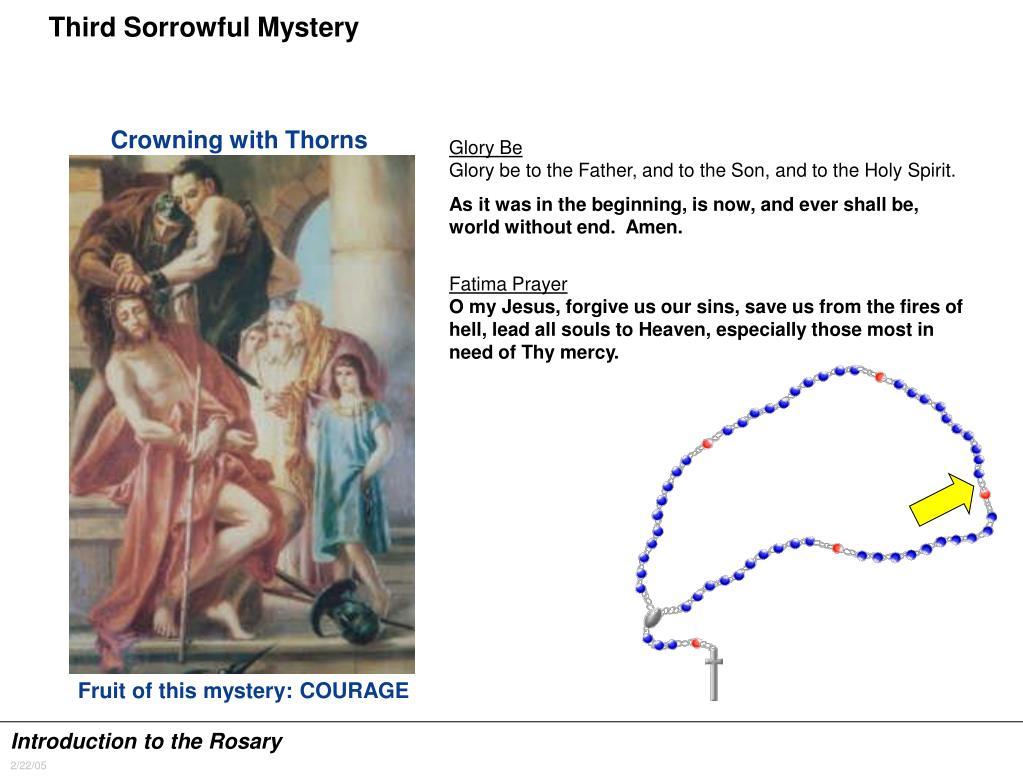 Third Sorrowful Mystery