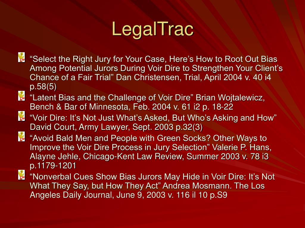 LegalTrac
