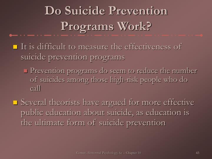 Do Suicide Prevention