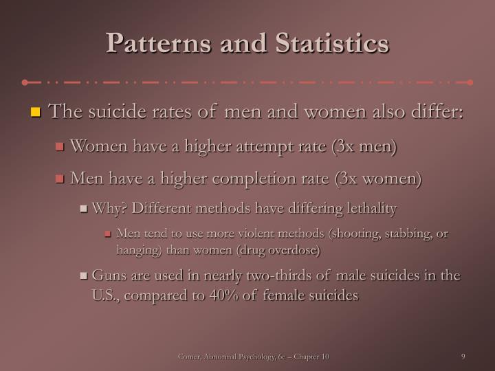 Patterns and Statistics