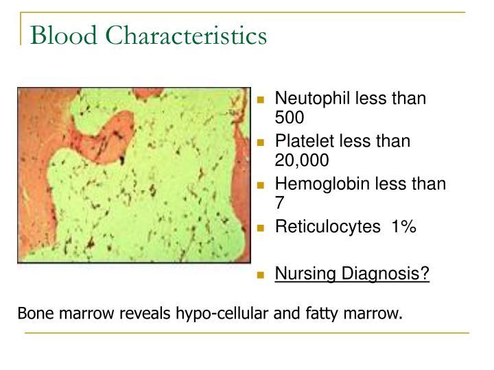Neutophil less than 500