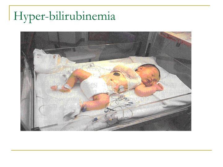 Hyper-bilirubinemia