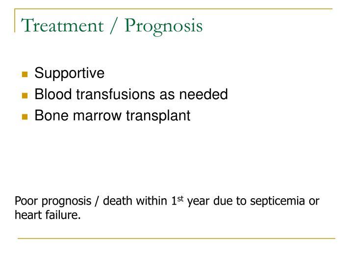Treatment / Prognosis