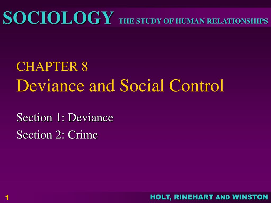 deviance social control essay topics It is defined as emile durkheim's term for the loss of direction felt in a society when social control essay we are concerned with social deviance topic.