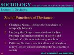 social functions of deviance
