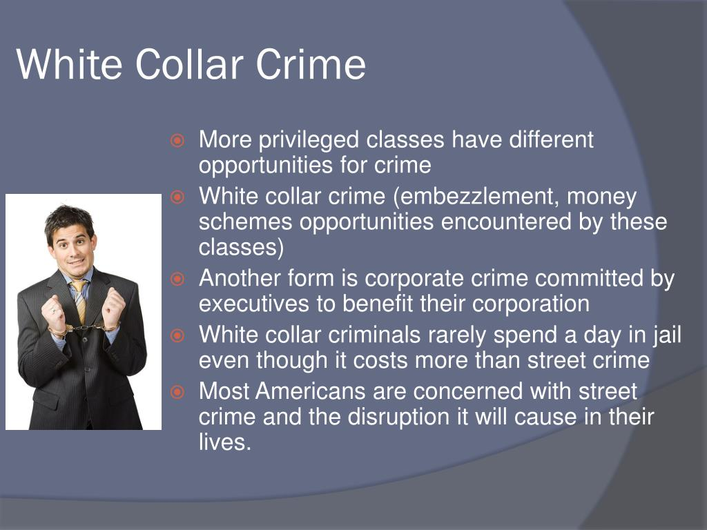 White Collar Crime