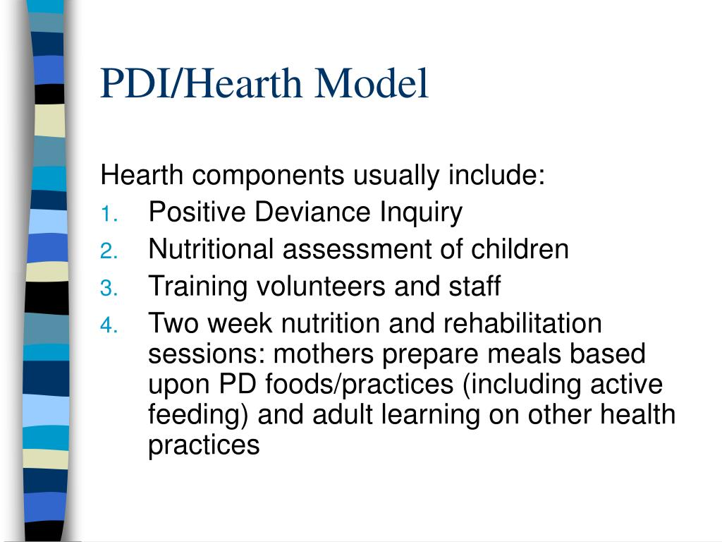 PDI/Hearth Model