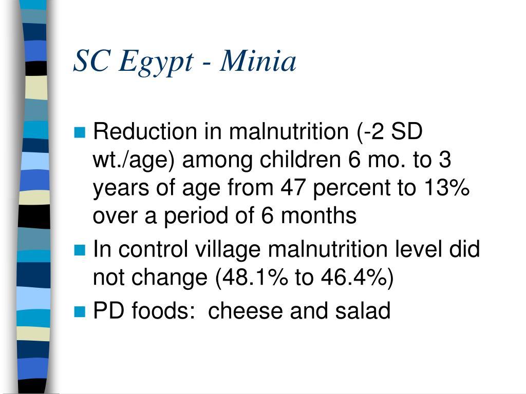 SC Egypt - Minia