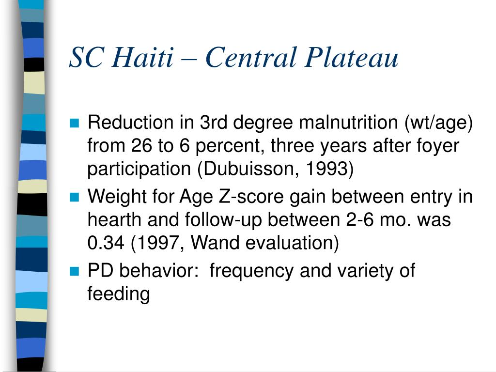 SC Haiti – Central Plateau