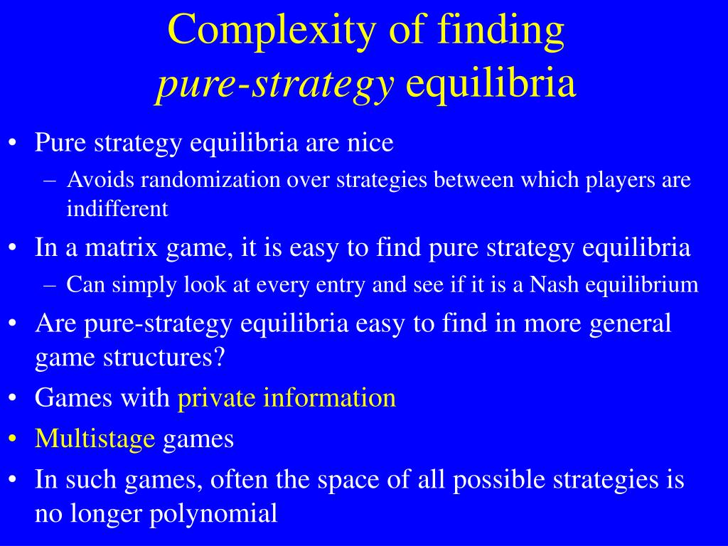 Complexity of finding