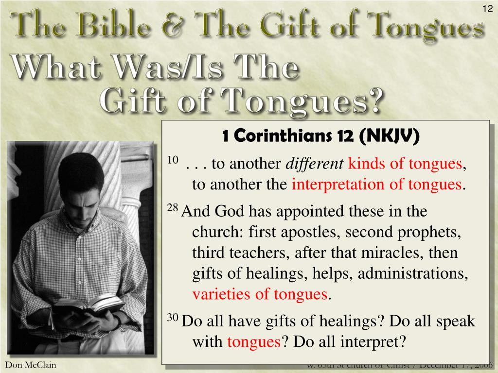 1 Corinthians 12 (NKJV)