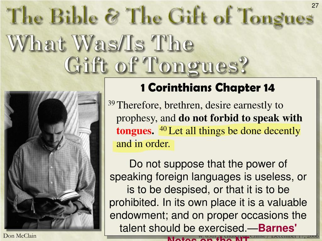 1 Corinthians Chapter 14