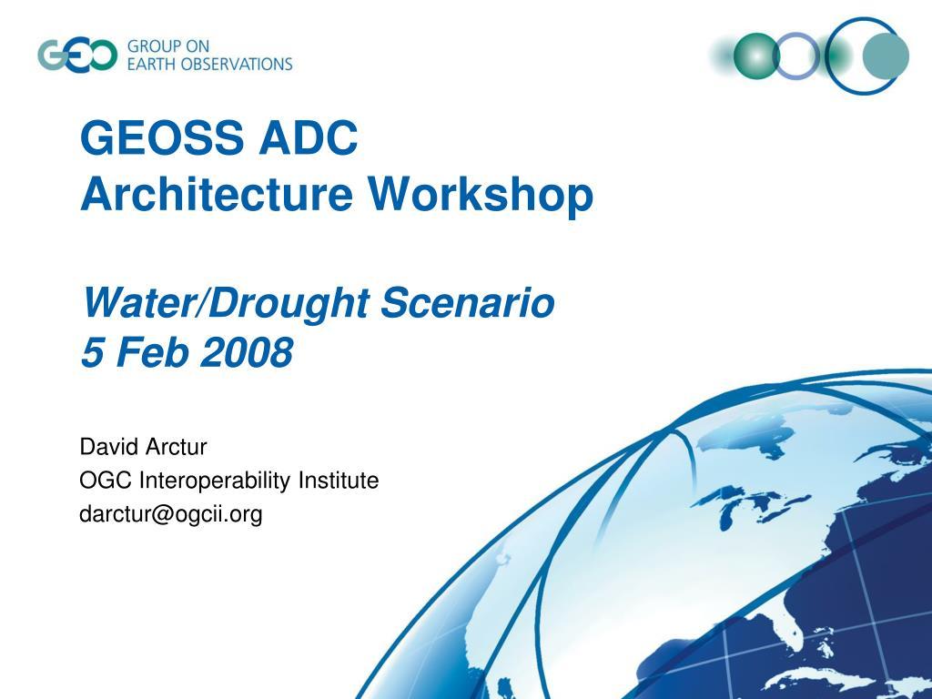 GEOSS ADC