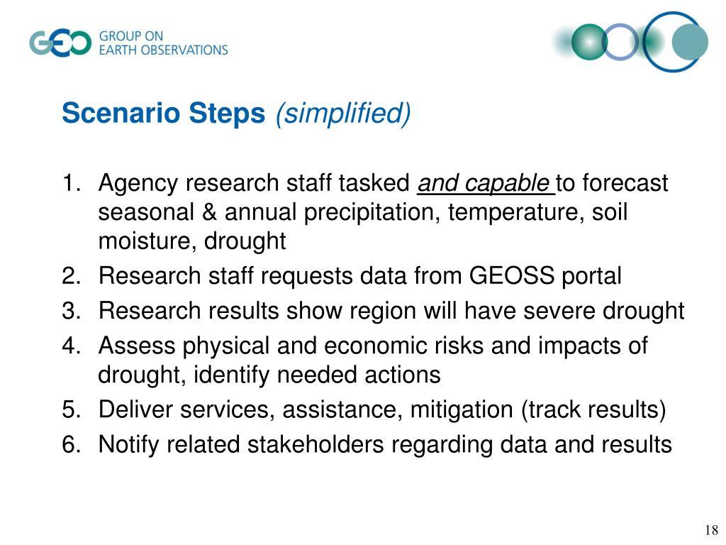 Scenario Steps
