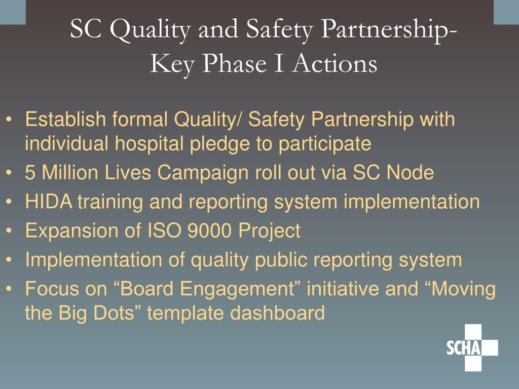 SC Quality and Safety Partnership-