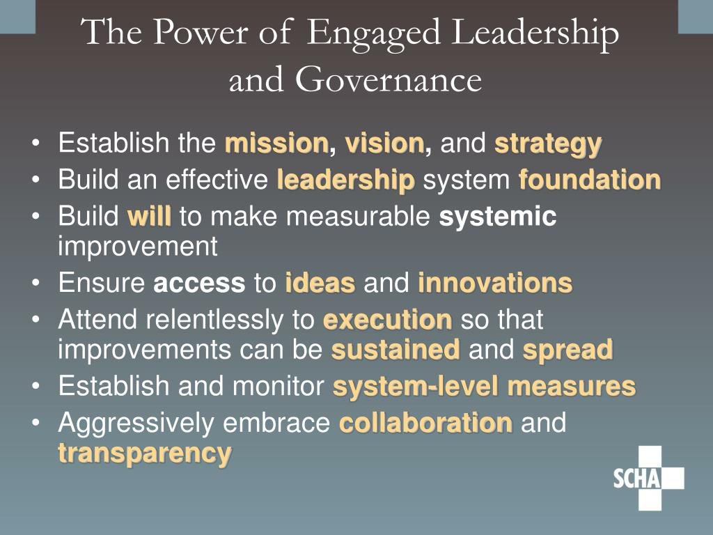 The Power of Engaged Leadership