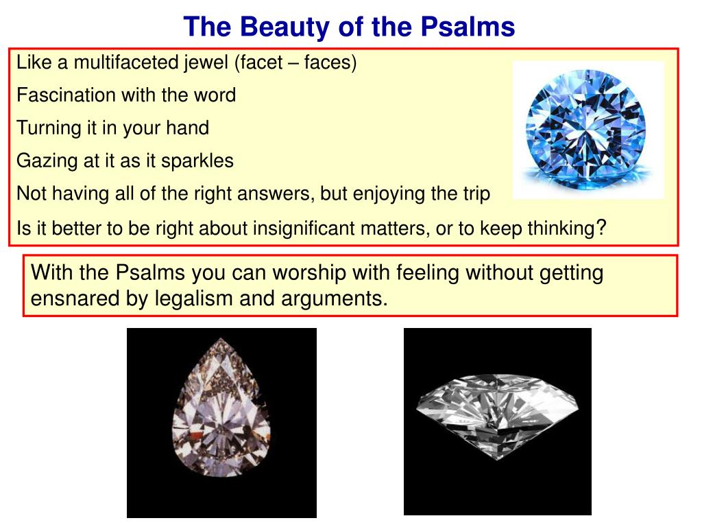 The Beauty of the Psalms