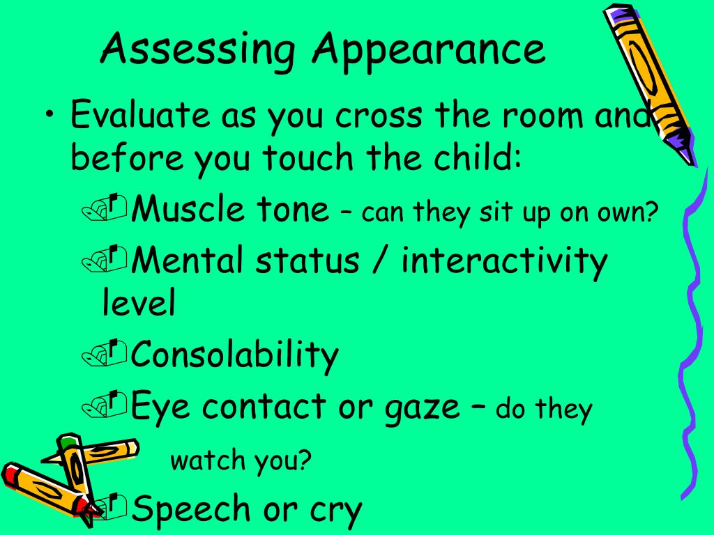 Assessing Appearance