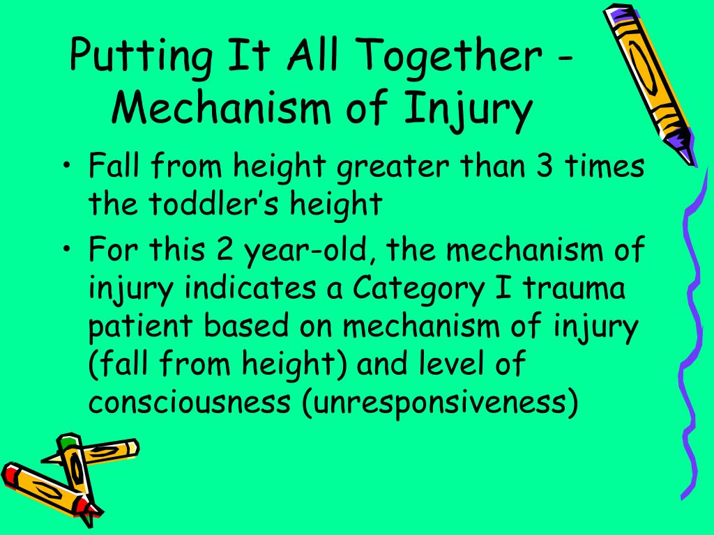 Putting It All Together - Mechanism of Injury