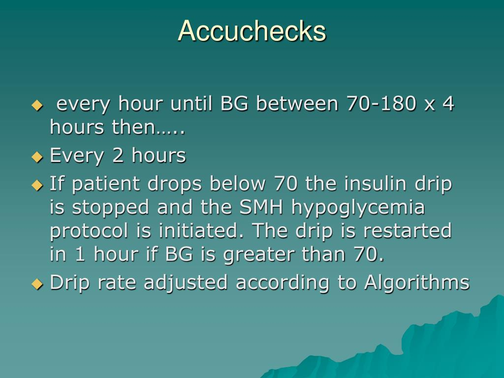 Accuchecks