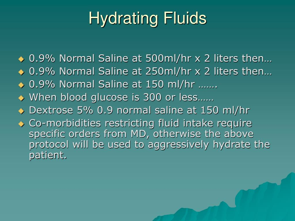 Hydrating Fluids