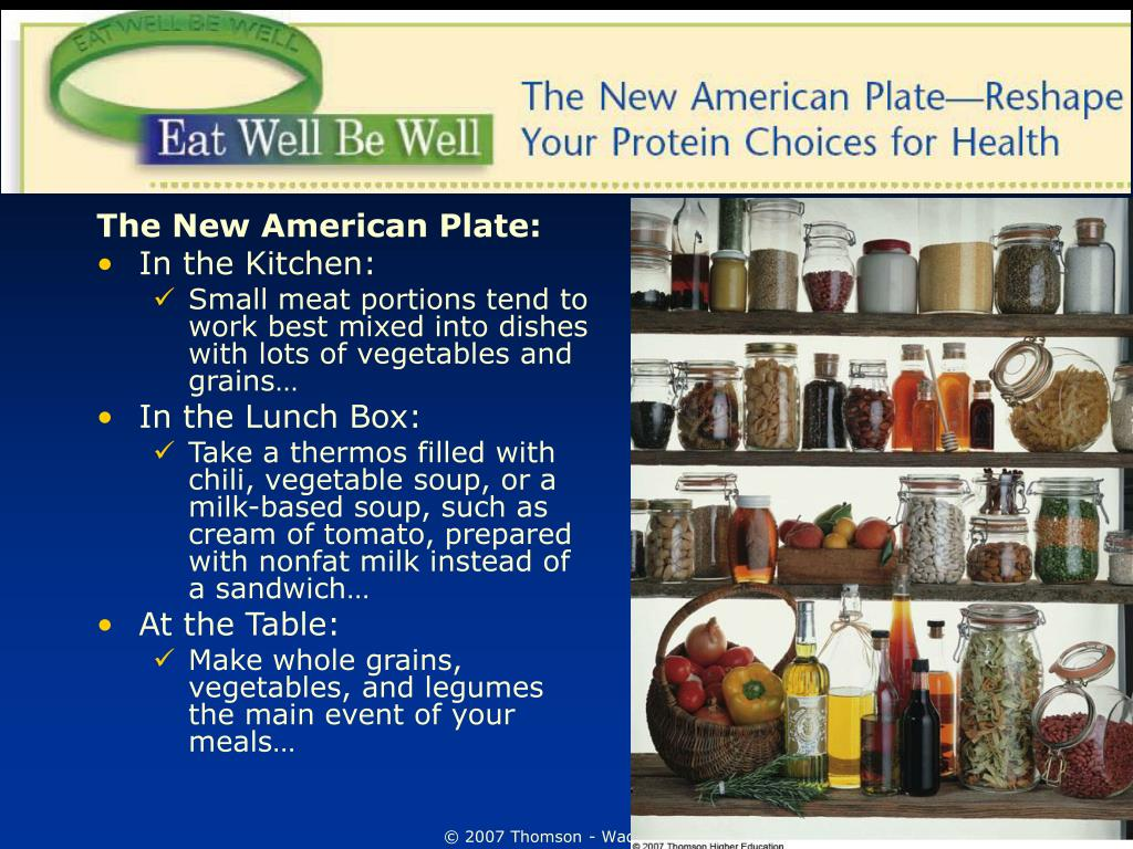 The New American Plate: